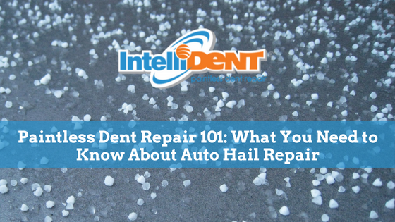 paintless dent repair 101